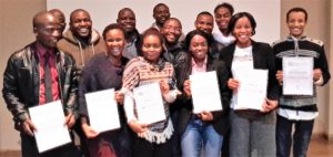 Certificates were issued to all the participants